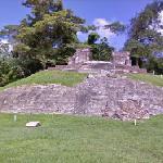 Temple II of Comalcalco (StreetView)