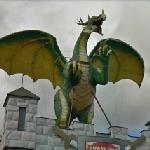 Dragon in the Excalibur City