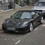 Grey Ferrari F430 Spider (StreetView)