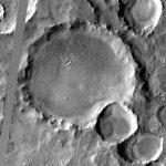 Alexey Tolstoy Crater (Google Maps)