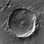 Barnard Crater (Google Maps)