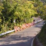Robert Kubica's Ronde di Andora crash site