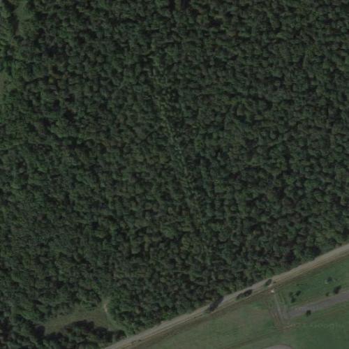 Air France Flight 296 crash site (Google Maps)