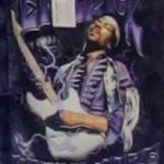 Jimi Hendrix playing 'Purple Haze' (StreetView)