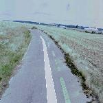 Remains of the Reims Gueux Circuit (StreetView)