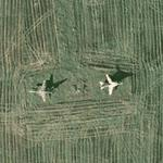 Second private plane exhibition in Olchowa (Google Maps)