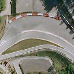 Eau Rogue - One of Formula 1's Most Famous Corners (Google Maps)