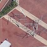 Kenneth Snelson's Easy Landing (Google Maps)