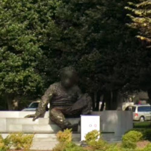 'Albert Einstein Memorial' by Robert Berks (StreetView)