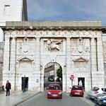 Renaissance city gate of Zadar (StreetView)