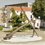 Old anchor (StreetView)
