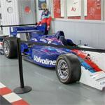 Gil de Ferran's CART race car (StreetView)