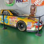 Ken Schrader's NASCAR stock car (StreetView)
