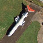 Hawker Siddeley Trident (3B G-AWZJ) (Google Maps)