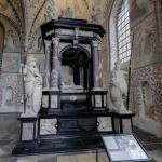 Tombs of King Frederik II and Queen Sophie of Denmark and Norway at Roskilde Cathedal