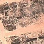 Damaged hangars. (Google Maps)