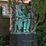 Statue of Søren Kierkegaard (StreetView)