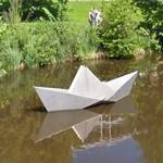 """The Paper Boat"" by Erik Heide"