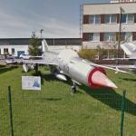 Mikoyan-Gurevich MiG-21 (StreetView)