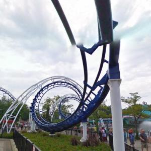 Corkscrew (Cedar Point) (StreetView)