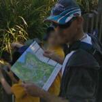 Man with a map