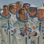 'Cosmic Brothers' by Yuri Konstantinovich Korolev (1981) (StreetView)