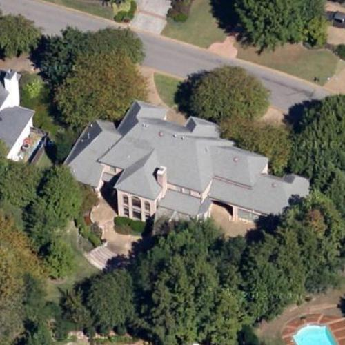 Tony Allen\'s House in Memphis, TN (Google Maps)