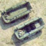 LARC-60 Amphibious Vehicles (Google Maps)