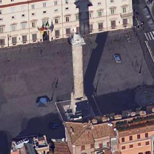 Piazza Colonna (Google Maps)