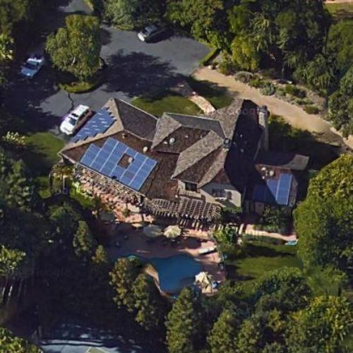 Jim harbaugh 39 s house in atherton ca google maps for Jim s dog house