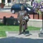 F. Scott Fitzgerald's statue (StreetView)