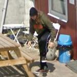 Danish comedian Geo (StreetView)