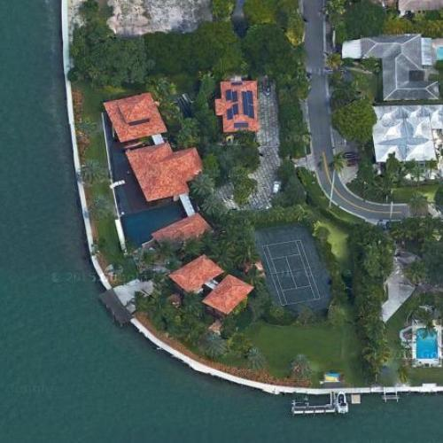 robert toll's house in miami beach, fl (google maps)