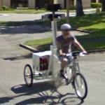 Street View trike (StreetView)