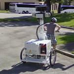 Street View trike from behind