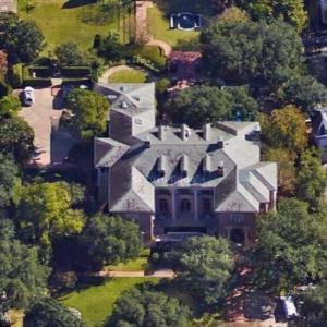 Bob McNair's House (Google Maps)