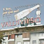 Valdivieso advertising sign (StreetView)