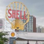 """Shell Oil Company """"Spectacular"""" Sign (StreetView)"""