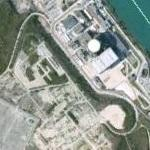 French SuperPhenix nuclear plant (Google Maps)