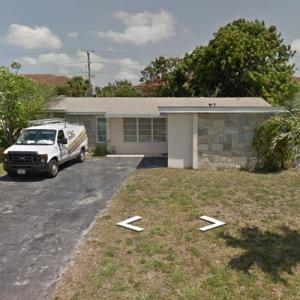 Johnny Depp's Childhood Home (StreetView)