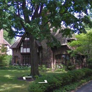 Paul Newman's Childhood Home (StreetView)