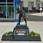Al MacInnis statue (StreetView)