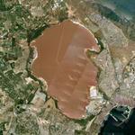 Laguna Salada de Torrevieja (Google Maps)