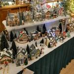 Christmas Village houses