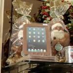 Chocolate iPad and Santas (StreetView)