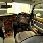 Inside a Bentley Birkin, steering side (StreetView)