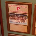 1980 World Series Champions plaque: Philadelphia Phillies