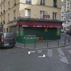 """Amélie"" movie location (StreetView)"