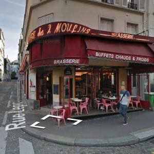 """Amélie"" movie location (StreetView)"