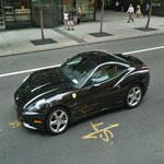 Ferrari California in front of Tourneau's